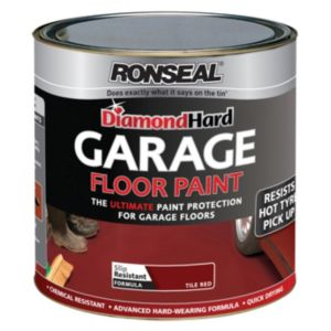 View Ronseal Diamond Hard Tile Red Satin Satin Paint 2.5L details