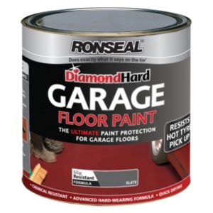 View Ronseal Diamond Hard Slate Satin Garage Floor Paint 5L details