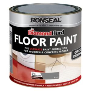 View Ronseal Diamond Hard Slate Satin Floor Paint 5L details