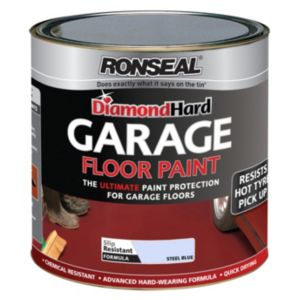 View Ronseal Diamond Hard Steel Blue Satin Garage Floor Paint 2.5L details