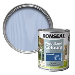 View Ronseal Woodland Colours Bluebell Woodstain 750ml details