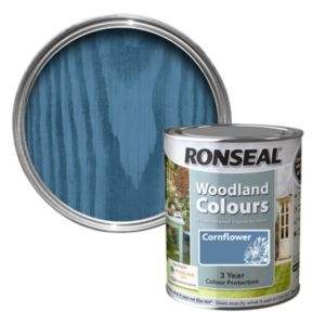 View Ronseal Woodland Colours Cornflower Matt Woodstain 2.5L details