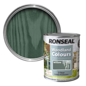 View Ronseal Woodland Colours Willow Matt Woodstain 750ml details