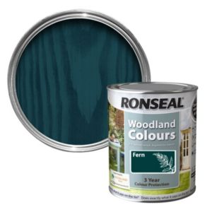 View Ronseal Woodland Colours Fern Woodstain 750ml details