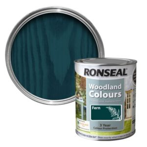 View Ronseal Woodland Colours Fern Matt Woodstain 2.5L details