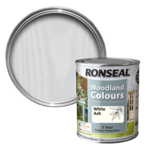 View Ronseal Woodland Colours White Ash Woodstain 750ml details