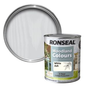 View Ronseal Woodland Colours White Ash Matt Woodstain 2.5L details