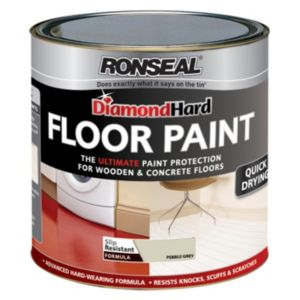 View Ronseal Diamond Hard Pebblestone Satin Floor Paint 750ml details