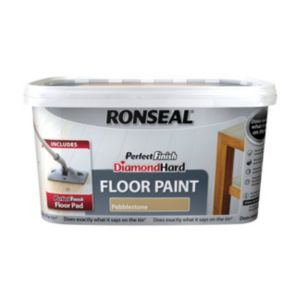 View Ronseal Perfect Finish Diamond Hard Pebblestone Satin Floor Paint 2.5L details
