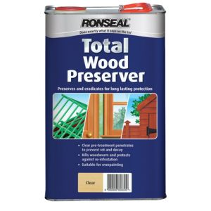 View Ronseal Wood Preserver 5L details