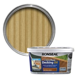 View Ronseal Perfect Finish Ultimate Protection Natural Cedar Decking Oil 2.5L details