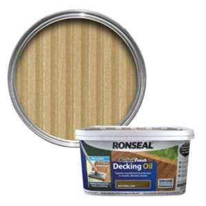 View Ronseal Perfect Finish Ultimate Protection Natural Oak Decking Oil 2.5L details