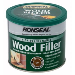 View Ronseal High Performance Dark Wood Filler 550G details