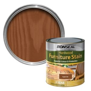 View Ronseal English Oak Hardwood Garden Furniture Stain 750ml details