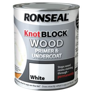 View Ronseal Knotblock White Primer & Undercoat 750ml details