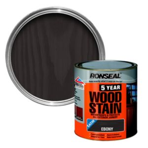 View Ronseal 5 Year Ebony High Satin Sheen Woodstain 250ml details