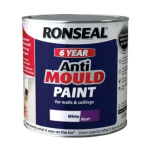 View Ronseal Anti Mould White Matt Anti-Mould Paint 2.5L details