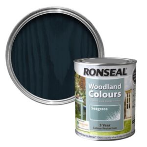 View Ronseal Woodland Colours Sea Holly Matt Woodstain 750ml details