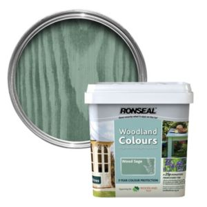 View Ronseal Woodland Colours Wood Sage Woodstain 5L details