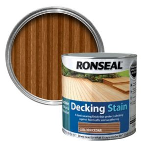 View Ronseal Golden Cedar Matt Decking Stain 5L details