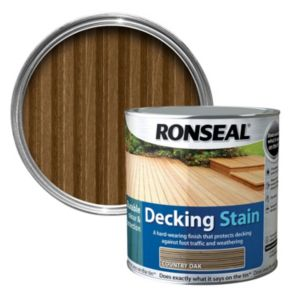 View Ronseal Country Oak Matt Decking Stain 5L details