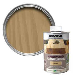 View Ronseal Hardwood Light Tinted Finish Furniture Oil 1L details