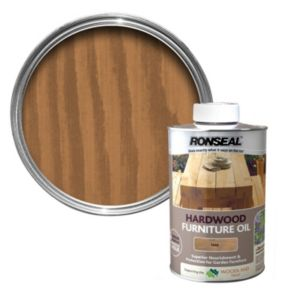 View Ronseal Woodland Trust Teak Hardwood Garden Furniture Oil 1L details