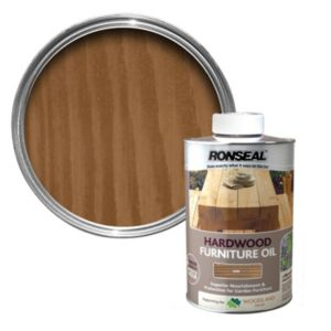 View Ronseal Hardwood Oak Light Tinted Finish Furniture Oil 1L details