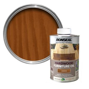 View Ronseal Hardwood Rosewood Light Tinted Finish Furniture Oil 1L details