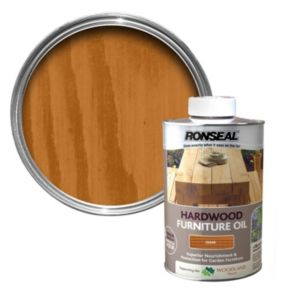 View Ronseal Hardwood Cedar Light Tinted Finish Furniture Oil 1L details