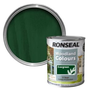 View Ronseal Woodland Colours Evergreen Matt Woodstain 750ml details