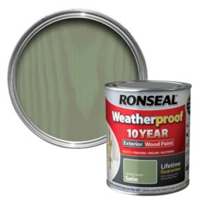 View Ronseal Spring Green Satin Woodstain 750ml details