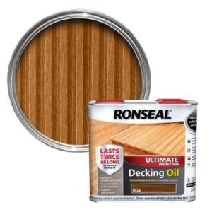 Ronseal Ultimate Teak Decking Oil 2.5L