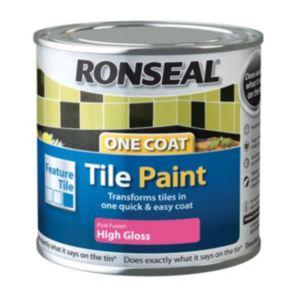 Ronseal Tile Paints Fusion High Gloss Tile Paint0.25L