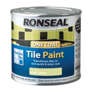 Ronseal Tile Paints Lime High Gloss Tile Paint0.25L