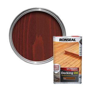 Ronseal Ultimate Teak Decking Oil 5L