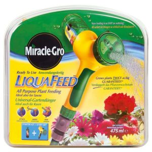 View Miracle Gro Liquafeed Liquid Concentrate Plant Feed Starter Kit 475ml details