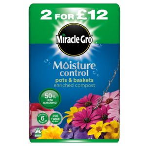 View Miracle Gro Moisture Control Compost 50L details