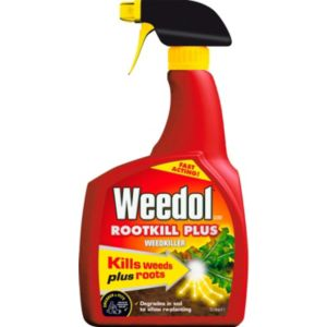 Image of Weedol Rootkill plus Ready to use Weed killer 1L
