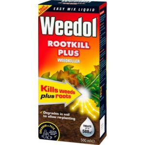 View Weedol Rootkill Plus Concentrate Weed Killer 500ml details