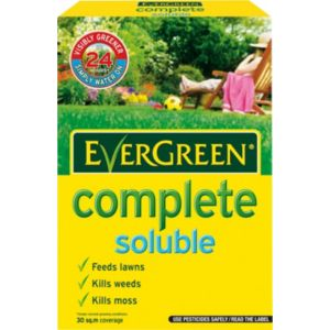View Evergreen ® Complete Soluble Lawn Feed, Weed & Moss Killer 800G details