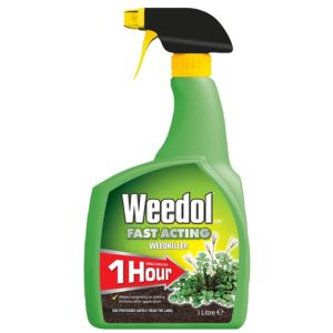 Weedol Fast Acting Ready to Use Weed Killer 1L