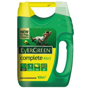 View Evergreen ® Complete 4 In 1 Lawn Feed, Weed & Moss Killer 3.5kg details