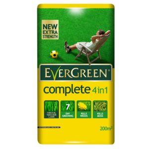 View Evergreen ® Complete 4 In 1 Lawn Feed, Weed & Moss Killer 7kg details