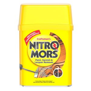 Image of Nitromors Craftsman's paint varnish & lacquer remover 375ml