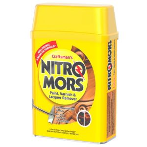 Image of Nitromors Craftsman's paint varnish & lacquer remover 750ml