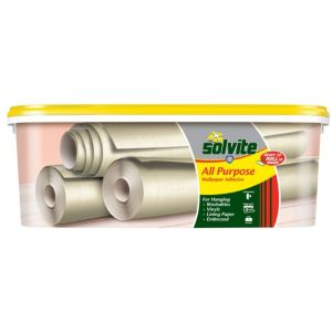 View Solvite All Purpose Ready to Roll Wallpaper Adhesive  2.5kg details
