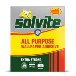 View Solvite Extra Strong Wallpaper Adhesive 1.140kg details