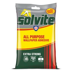 Image of Solvite All purpose Wallpaper Adhesive 185g