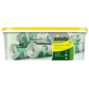 View Solvite Paste The Wall Ready to Roll Wallpaper Adhesive  2.5kg details